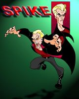 Toon Spike from Buffy by frostdusk