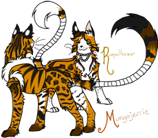 CATS - Jerrie and Teazer by CheshireCatGrin