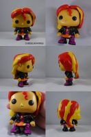 Funko POP Sunset Shimmer by ChibiSilverWings
