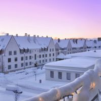 My City Dressed In White by HegeKristin25