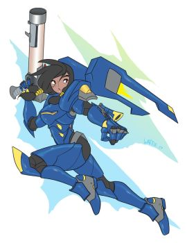 Pharah by papawaff