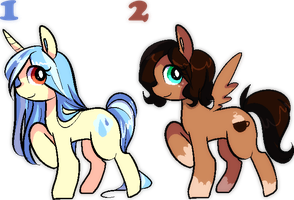 MLP Adoptables by DesuApple