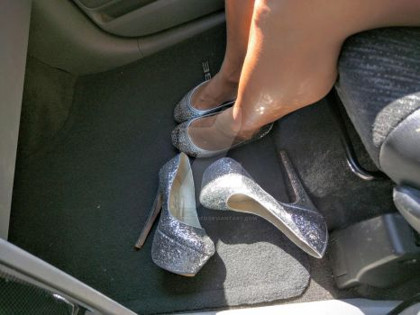 silver Flats and Platforms by Notprovided