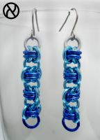 Bluebarrel Earrings by Zeroignite