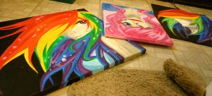 Humanized ponies for sale by Tao-mell