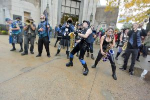 2014 Honk Festival, Chaotic Noise 28 by Miss-Tbones