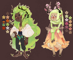 Aldhin + Perran Adoptables [CLOSED] by Po-Lar