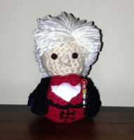Third Doctor Amigurumi Doll by Craftigurumi