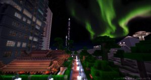 Aurora City Project [Minecraft] [07] by NickPolyarush