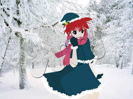 miko-chan christmas 2011 by Lain444