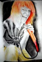 Hayley Williams Portrait by Hulkster77