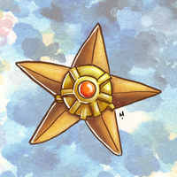 #152 Staryu Pokemon Challenge by Meridot