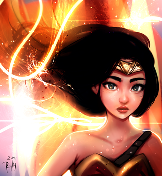 Wonder Woman by ryky
