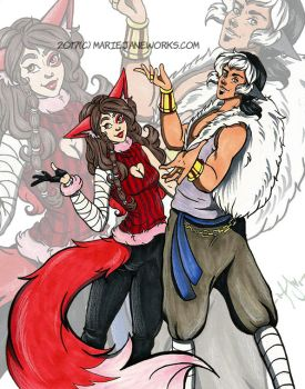 Pledge for Skylar and Absolon! by MarieJaneWorks