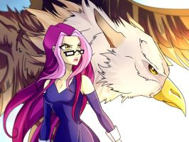 Griffin by JuliaGoldfox