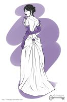 The Infernal Devices: Tessa Sketch by mseregon