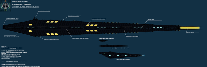 Lancer class Dreadnought by EmperorMyric