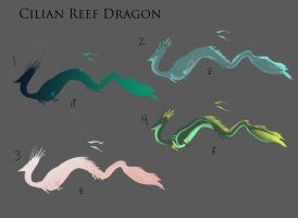 Cilian Reef Dragon adopt sheet 1 by quinnk