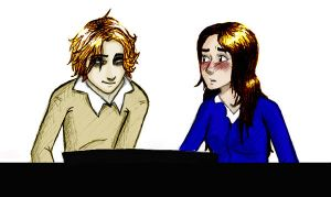 Edward and Bella at the Piano by Aurora-aura