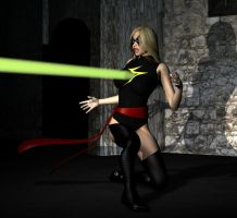Ms Marvel Ambushed by LordSnot