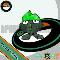 116. Chunkore by bromos-pokemon