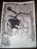 Over The Garden Wall [WIP] by ad321