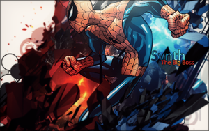 Spiderman tag by Synthasion