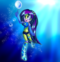 AT::underwater:melody by Rayne-Is-Butts