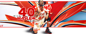 Udonis Haslem by cannabis97