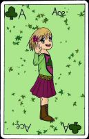 ace of clover by carroswensson