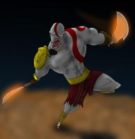 Kratos again by MAGAM88