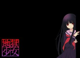 hell girl wallpaper enma ai by shaluXangel