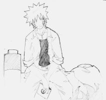 Naruto and his pain by Feiuccia