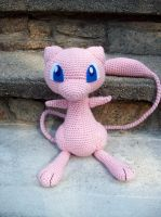 Mew Amigurumi by DarkWater9