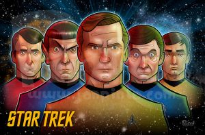Star Trek:TOS by jonpinto