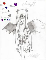 I'm an angel.... by Madness-Has-Returned