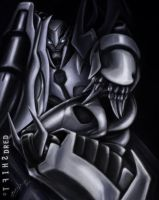 The Lord Beckons - TFP Megatron by DREDSHIFT