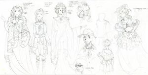 Ancient OS-tan concepts by BellaCielo