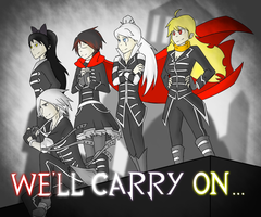RWBY - Monty joins The Black Parade by Lightning-in-my-Hand