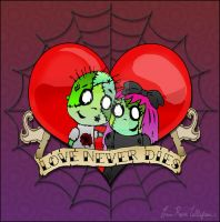 Love Never Dies tattoo idea by spookyspinster