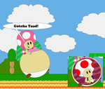Toadette ate Toad by Nicolol881