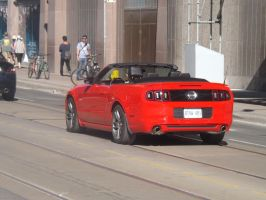 Back Of A 'Stang On Queen Street by Neville6000