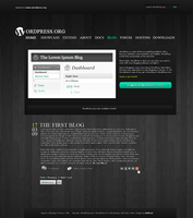 wordpress by swollenskull