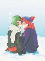 I found it in the snow you see by kyuubikun