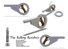 Rolling Revolver by Doomsday-Device