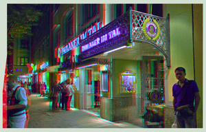 Paulaner Tavern Munich 3D ::: HDR Anaglyph by zour