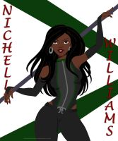 Nichelle Williams by BloodTalonHero