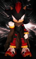 Shadow The Hedgehog (Boom Style with BG) Upgraded by FinnAkira