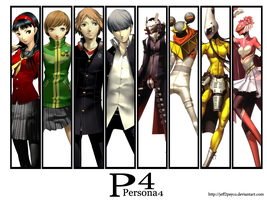 Persona 4 wallpaper by Jeff2psyco