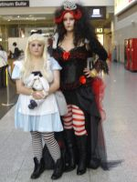 Alice And The Red Queen by lunamaxwell